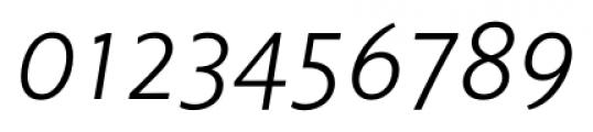 Unita LightItalic Font OTHER CHARS