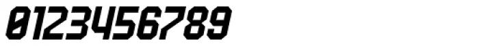 UNDA Angle Italic Font OTHER CHARS