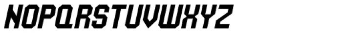 UNDA Angle Italic Font UPPERCASE
