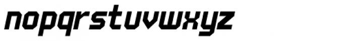 UNDA Angle Italic Font LOWERCASE