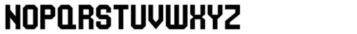 UNDA Angle Font UPPERCASE