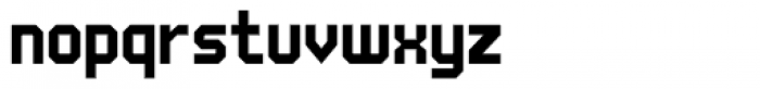 UNDA Angle Font LOWERCASE