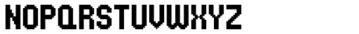 UNDA Bitmap Font UPPERCASE