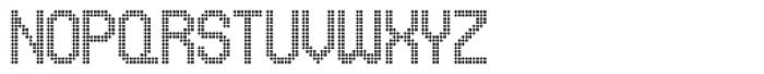 UNDA Circle Fine Font UPPERCASE