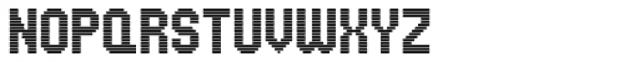 UNDA Horizontal Font UPPERCASE