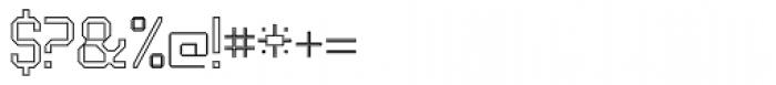 UNDA Outline Fine Font OTHER CHARS