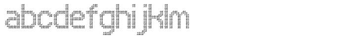 UNDA Triangle Fine Font LOWERCASE