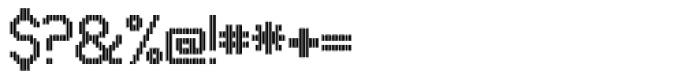 UNDA Vertical Fine Font OTHER CHARS