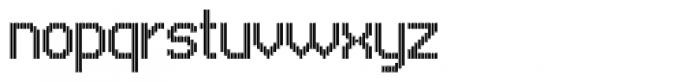 UNDA Vertical Fine Font LOWERCASE