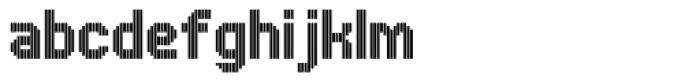 UNDA Vertical Font LOWERCASE