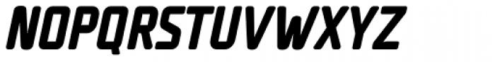 UNicod Sans Condensed Bold Italic Font UPPERCASE