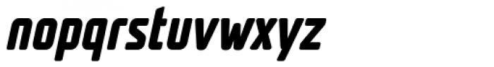 UNicod Sans Condensed Bold Italic Font LOWERCASE