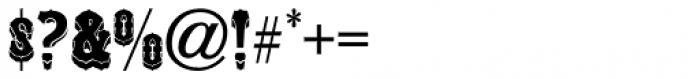 Unadorned JNL Font OTHER CHARS