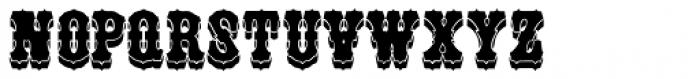 Unadorned JNL Font UPPERCASE