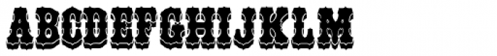 Unadorned JNL Font LOWERCASE