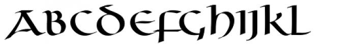 Uncia Regular Font UPPERCASE