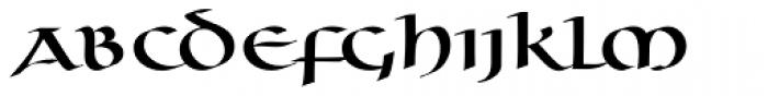 Uncia Regular Font LOWERCASE