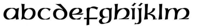 Uncial Font LOWERCASE
