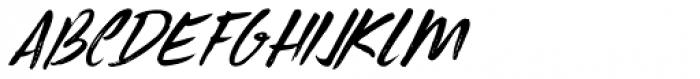Uncle Edward Extra Italic Font UPPERCASE