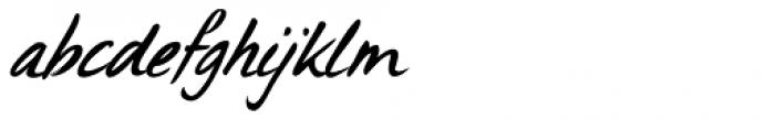 Uncle Edward Extra Italic Font LOWERCASE