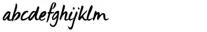 Uncle Edward Italic Font LOWERCASE