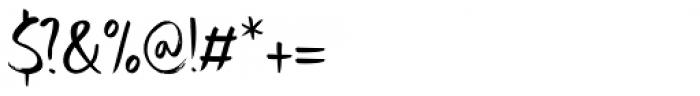 Uncle Edward Regular Font OTHER CHARS