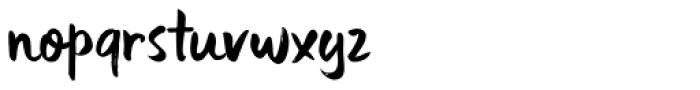Uncle Edward Regular Font LOWERCASE