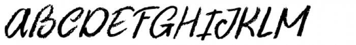 Uncle Oscar Italic Font UPPERCASE