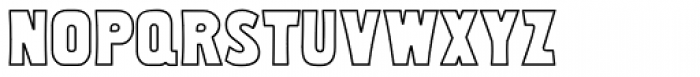 Uncloudy Day Font LOWERCASE
