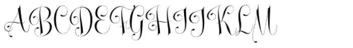 Undergone Font UPPERCASE