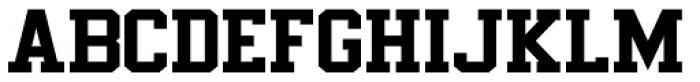 Undergrad Bold Font UPPERCASE