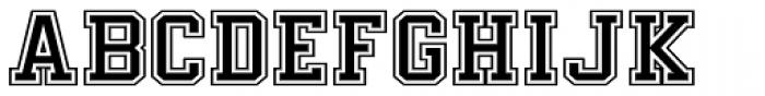 Undergrad Exscribed Bold Font UPPERCASE