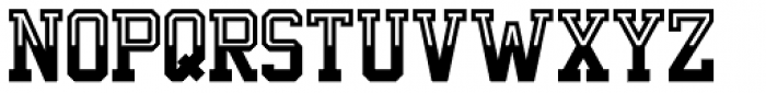 Undergrad Half Full Font LOWERCASE