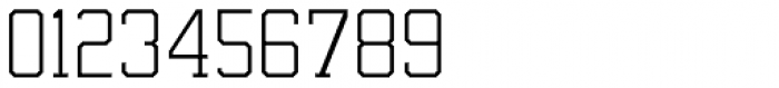 Undergrad UltraThin Font OTHER CHARS