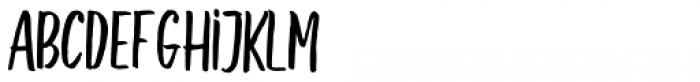 Underland Sans Font UPPERCASE