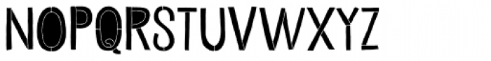Undersong Filled Font UPPERCASE