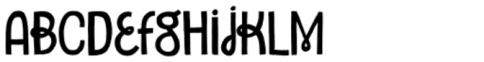 Undersong Solid Font LOWERCASE