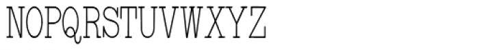 Underwood Typewriter Font UPPERCASE