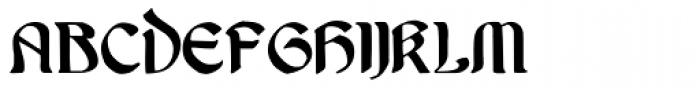 Undine Font UPPERCASE