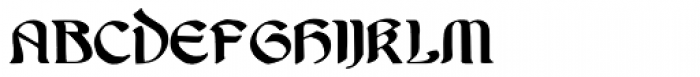 Undine Font LOWERCASE