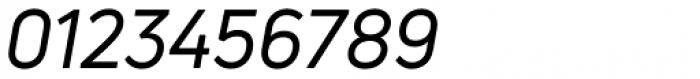 Uni Neue Regular Italic Font OTHER CHARS