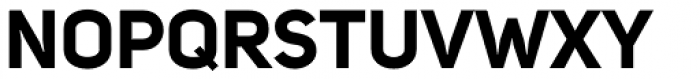 Uni Sans Bold Font UPPERCASE