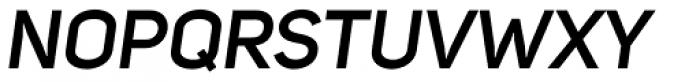 Uni Sans SemiBold Italic Font UPPERCASE