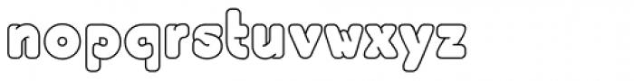 UniFont Fat White Font LOWERCASE