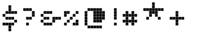 Unibody 8 Pro Small Caps Font OTHER CHARS