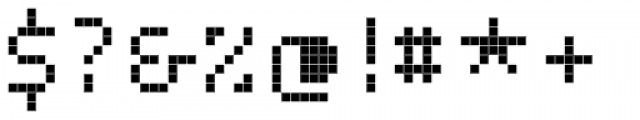 Unibody 8 Pro Font OTHER CHARS