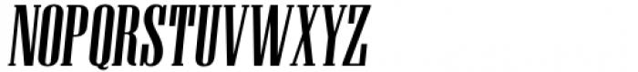 Unicorn Display Slanted Font UPPERCASE