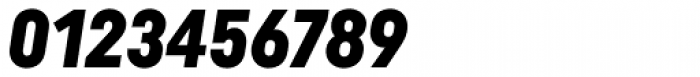 Uniform Italic Cond Black Italic Font OTHER CHARS