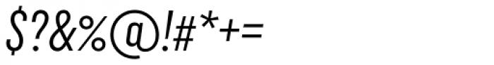 Uniform Italic ExtraCond Italic Font OTHER CHARS