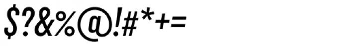 Uniform Italic ExtraCond Medium Italic Font OTHER CHARS